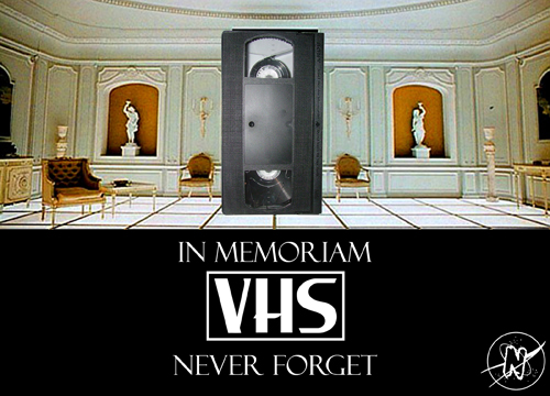 Never Forget VHS-