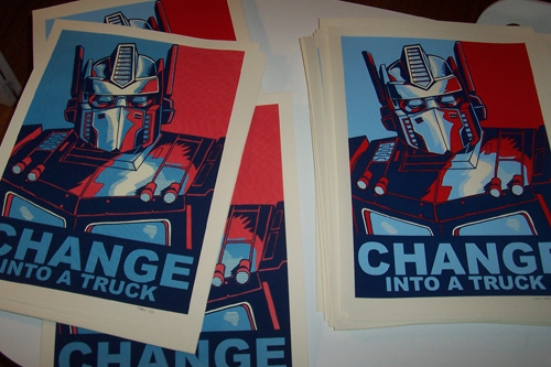 Change into a Truck- Shipped and a few more for sale…
