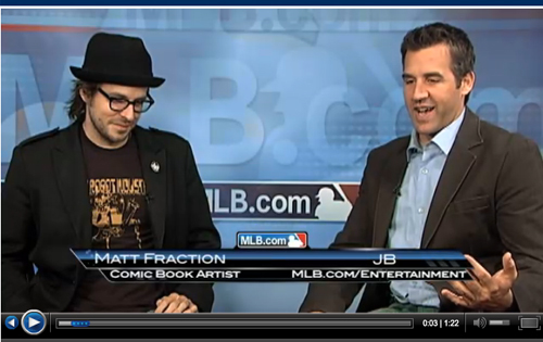 Nakatomi On Matt Fraction on MLB!
