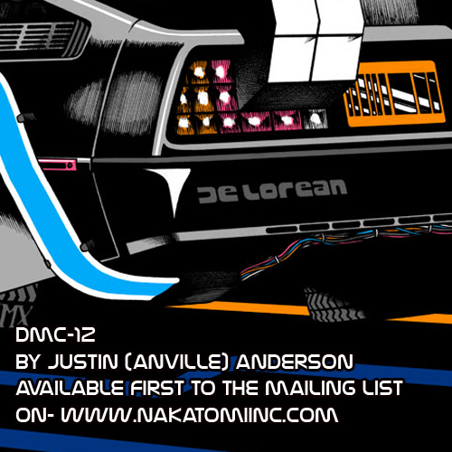 Anville's new print- DMC-12 mailing list exclusive!
