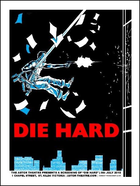 Die Hard prints now on sale