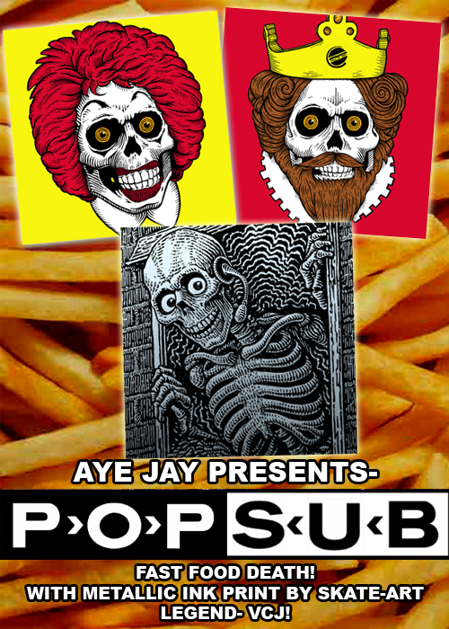 "POP-SUB VOL 2 ""FAST FOOD DEATH!"""