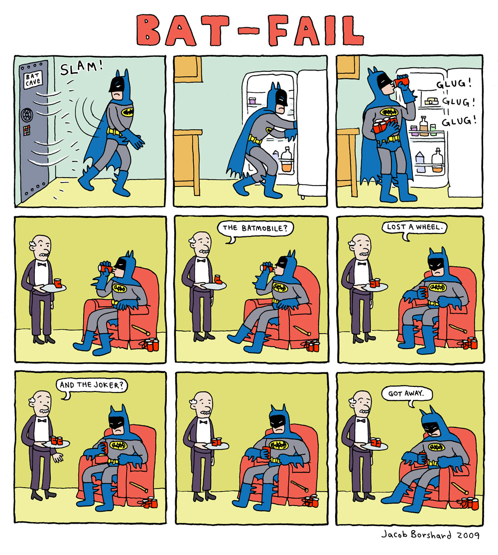 Creebobby TUesdays! Bat-Fail!
