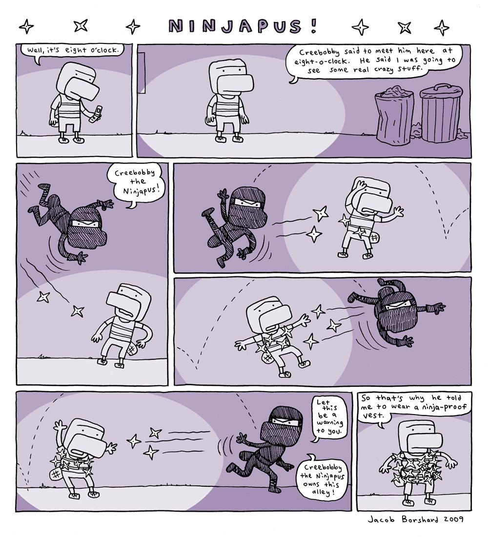 Creebobby Tuesdays! Ninjapus!