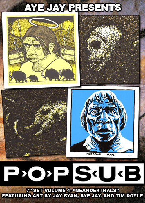 "POP-SUB VOL 4- ""NEANDERTHALS"" w/ JAY RYAN!"