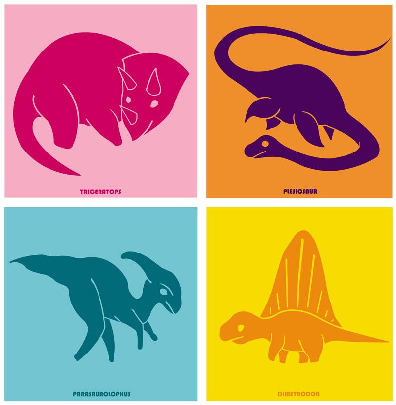 Clint Wilson's Dinosaurs- set 2!