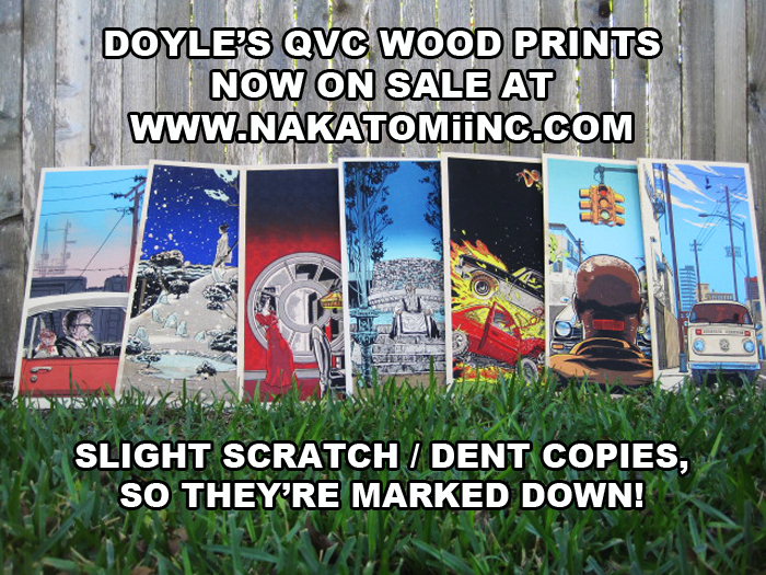 QvC Wood prints by Doyle- now on sale!
