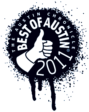 Austin Chronicle readers vote Tim Doyle 1/2 the Best Artist in Austin!
