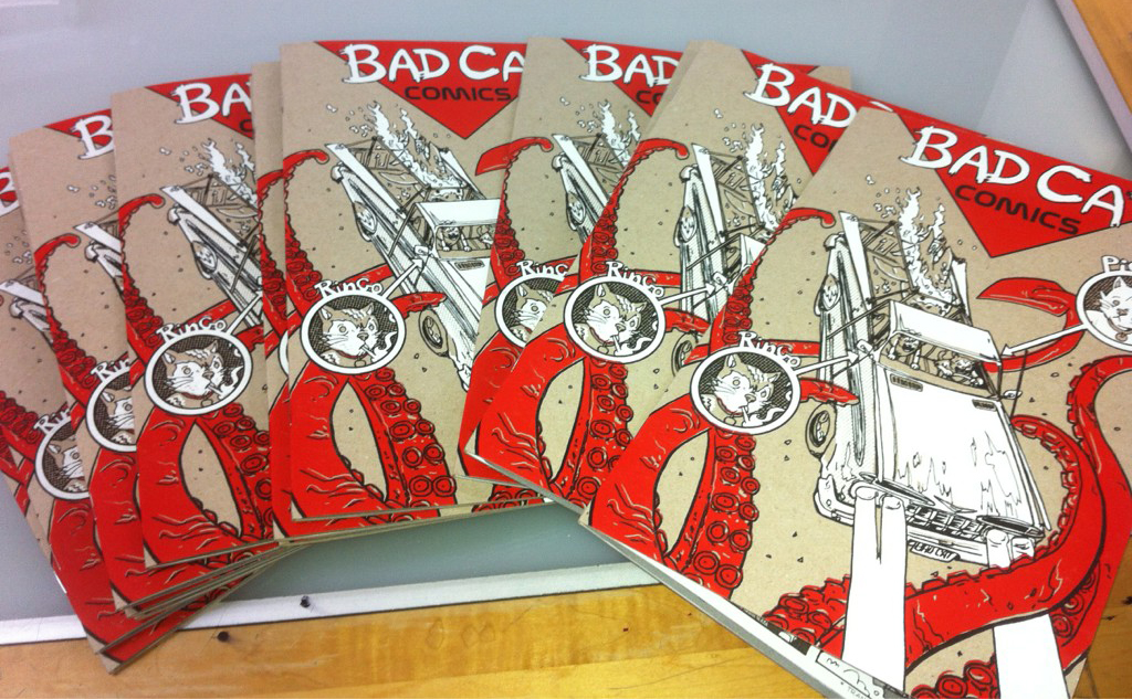 Bad Cats #1- back in STOCK!