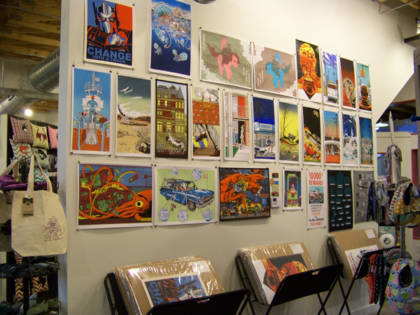 Where to buy Nakatomi prints in person in Austin and abroad!