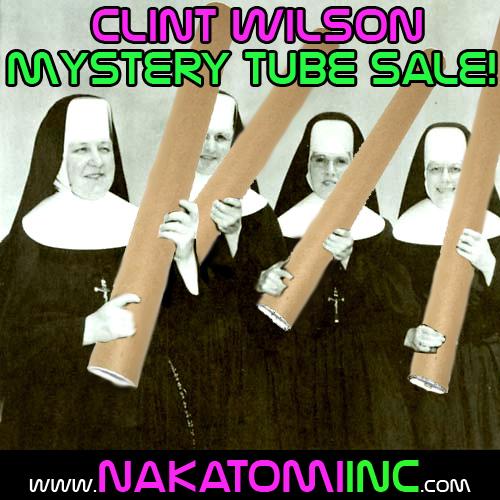 CLINT WILSON's INSANE, MYSTERIOUS TUBE (sale)!