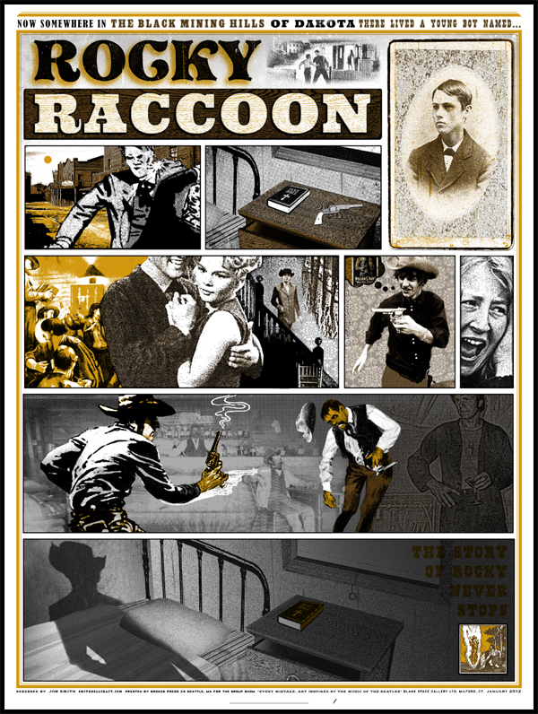 """Rocky Raccoon"" Jon Smith print now available!"