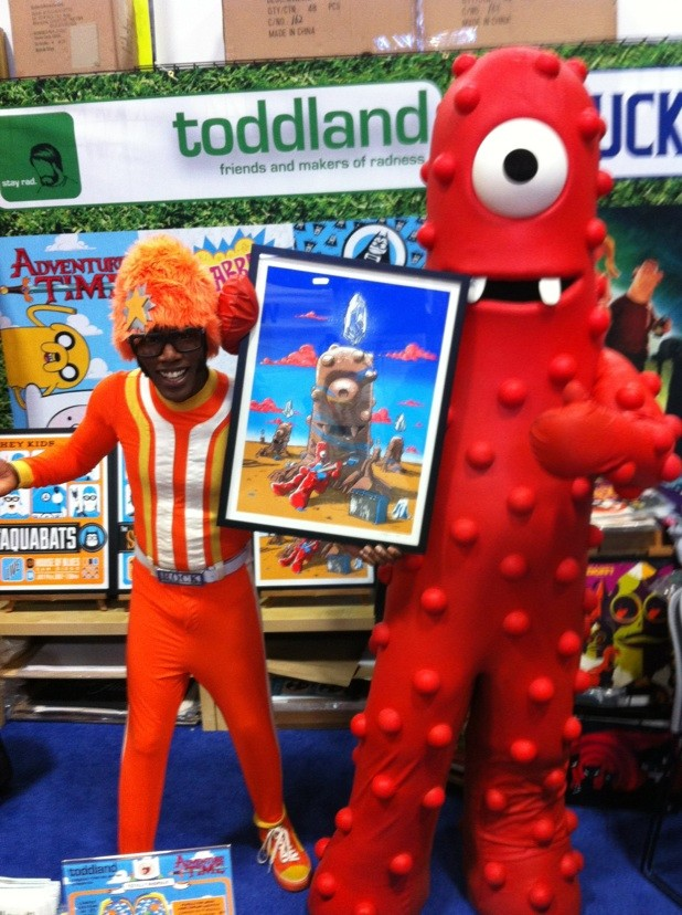 Yo Gabba Gabba-MUNO and Bellfuries prints onsale info-