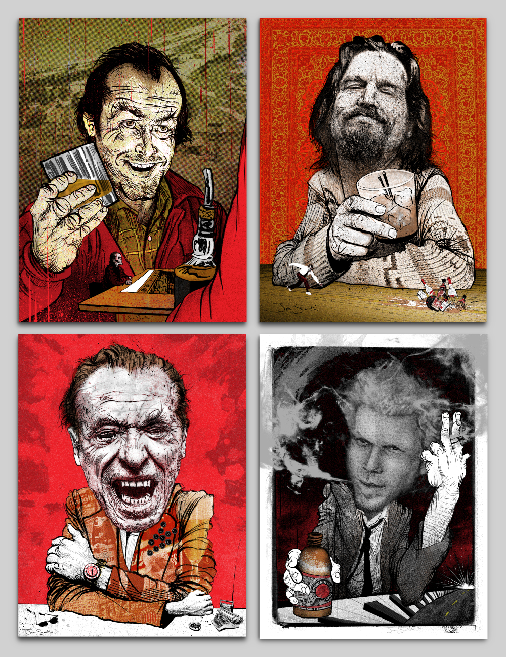 DRINKING BUDDIES- Print Set from Jon Smith