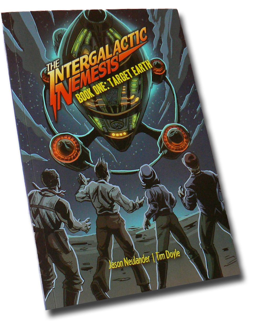 The Intergalactic Nemesis Graphic Novel /TPB now available!