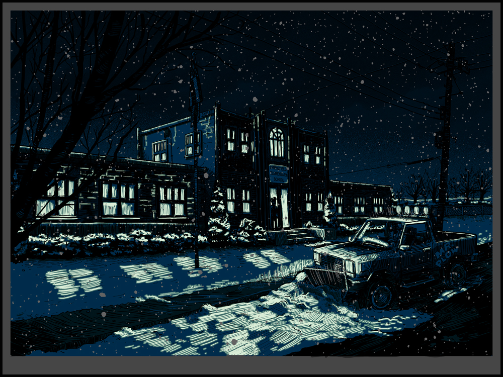 UNREAL ESTATE II- Timed release print- available TODAY!