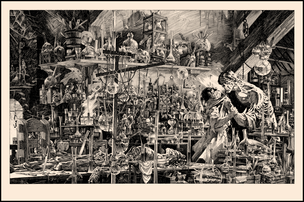 "Bernie Wrightson's Frankenstein- ""I Shall Be With You""- on sale this TUESDAY 4/2"