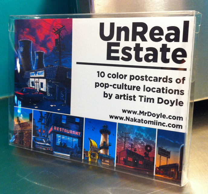 Unreal Estate series 1- POSTCARD SETS!