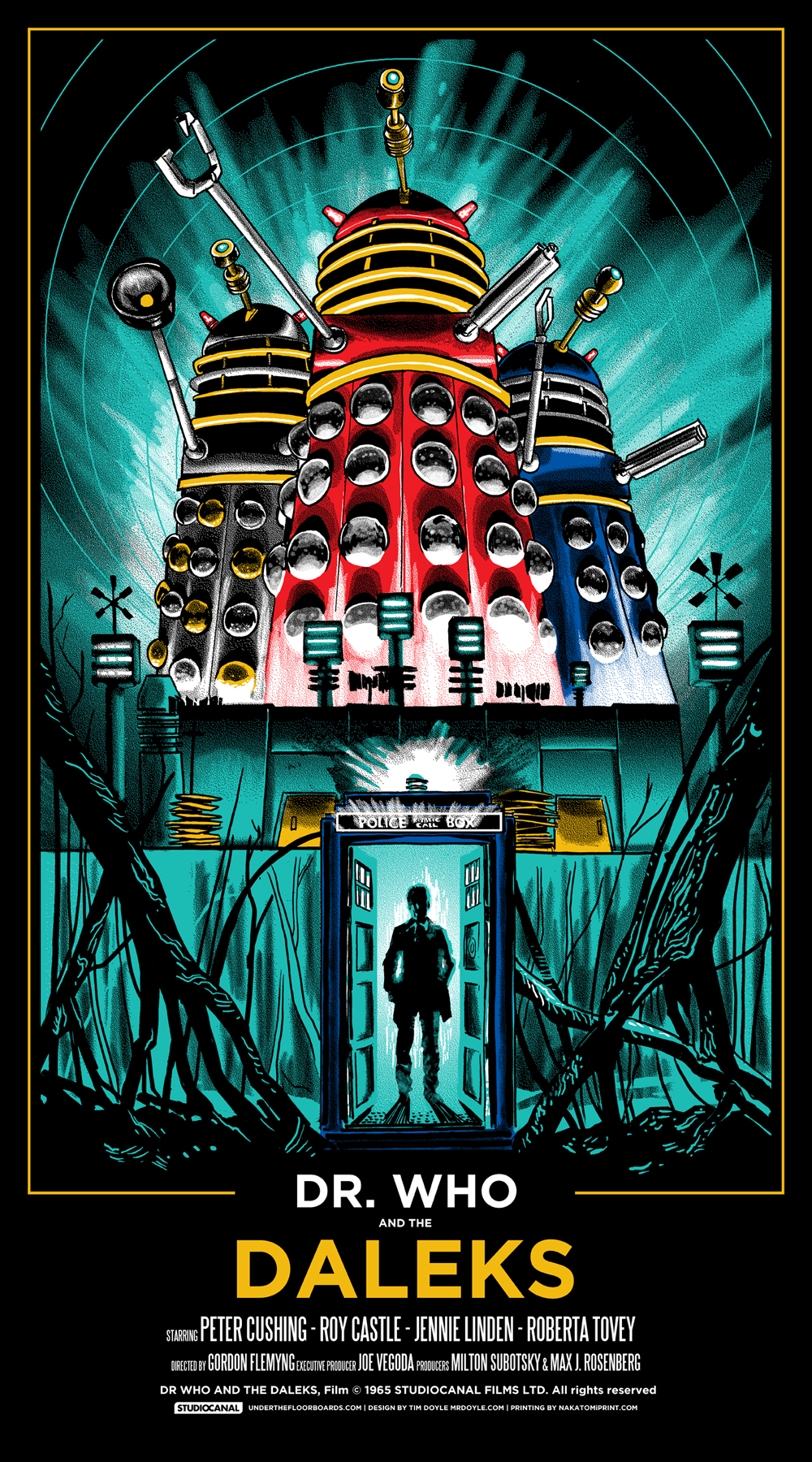 Dr. WHO and the DALEKS print- onsale info