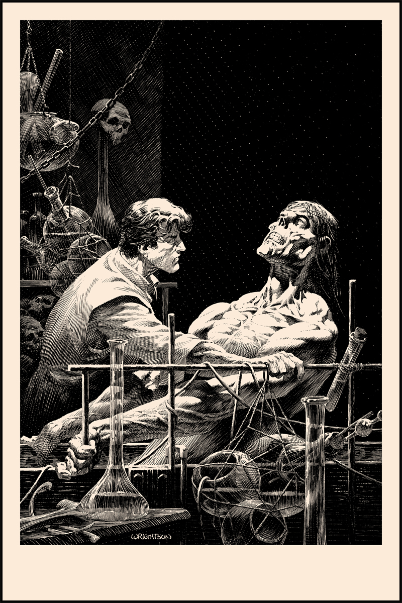 Bernie Wrightson's Frankenstein Series- 'Features As Beautiful' onsale Wednesday 6/12!