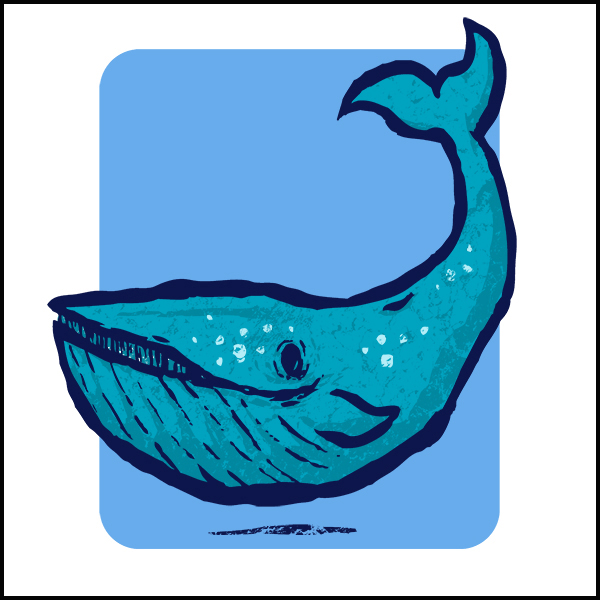 Clint's Animals- Boris The Blue Whale!