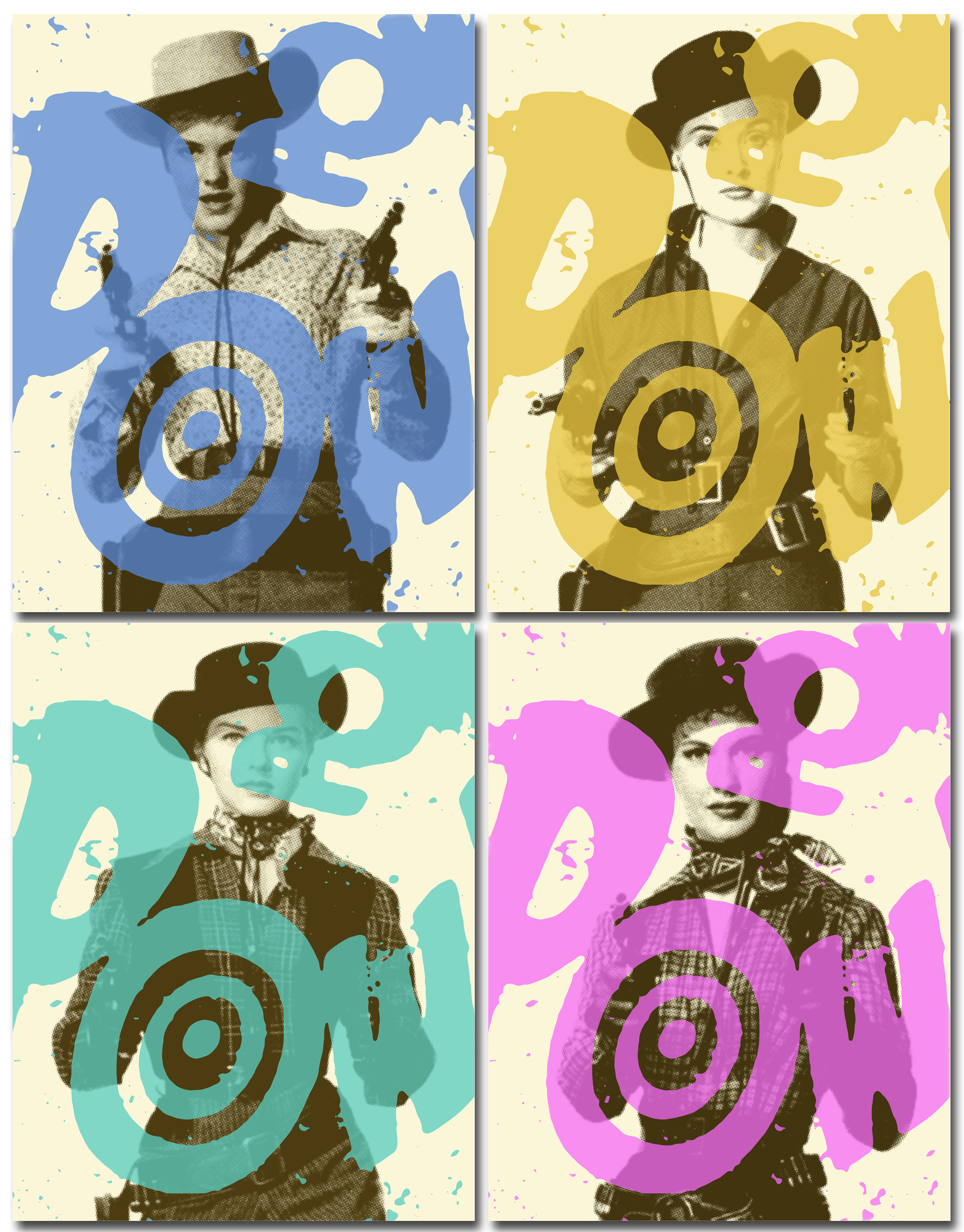 COWGIRLS print set by Zane Thomas!