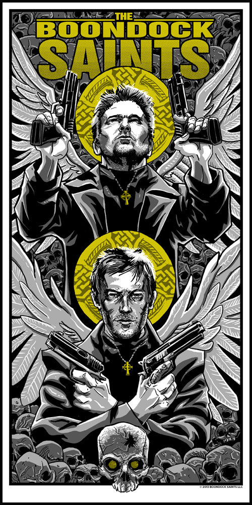 Boondock Saints print by Tim Doyle- artist copies now available!
