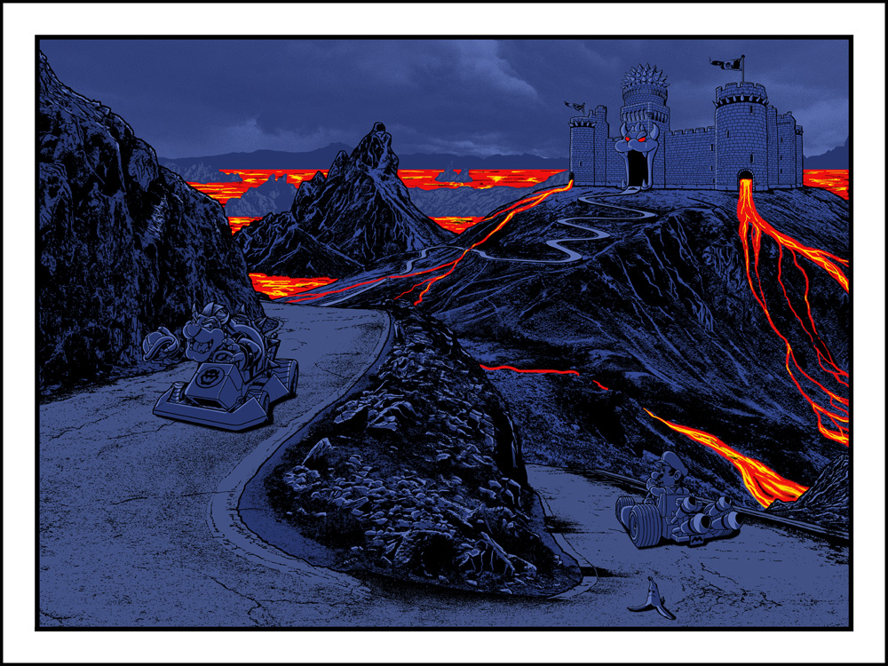 "NEW PRINT- ""Drifiting Into Darkness"" by Russ Moore- onsale TUESDAY 9/3"
