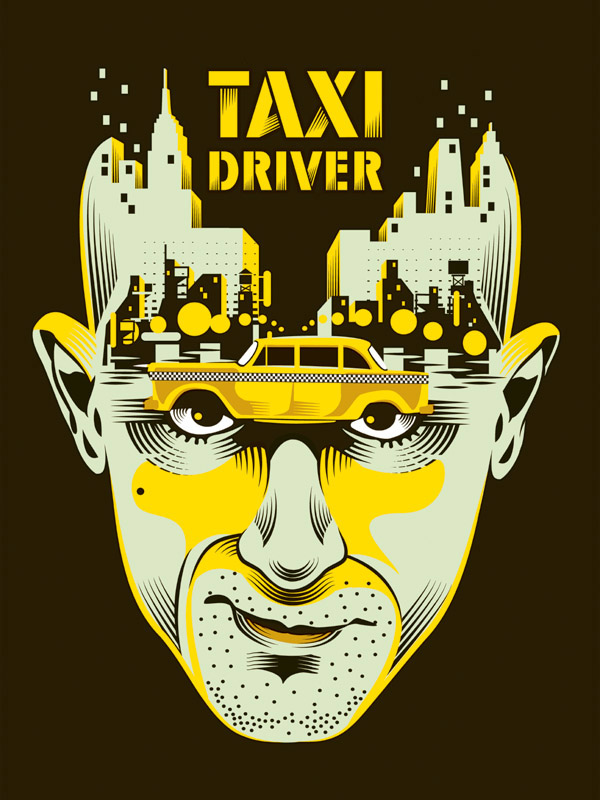TAXI DRIVER print by Yann Legendre- onsale Tuesday