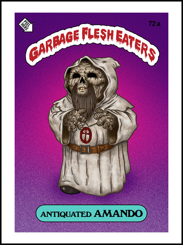 GARBAGE FLESH EATERS- by Omar Hauksson- THIS TUESDAY!