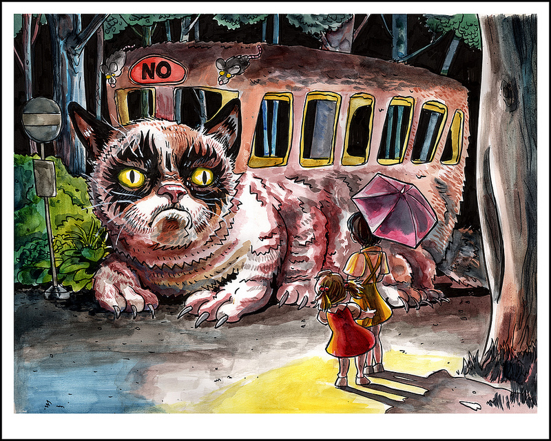 Lil' Bub and Grumpy Catbus Artist Copies- NOW AVAILABLE!