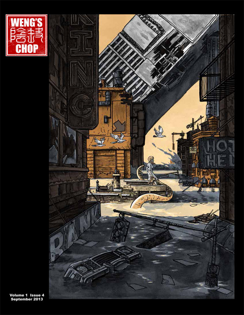 WENG'S CHOP#4- Giant Doyle Interview