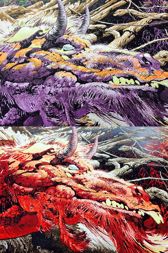 New BERNIE WRIGHTSON 10-color print- COMING SOON
