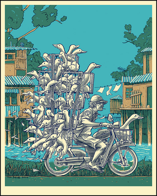 Vietnam on Wheels- DUCK DELIVERY by Tim Doyle